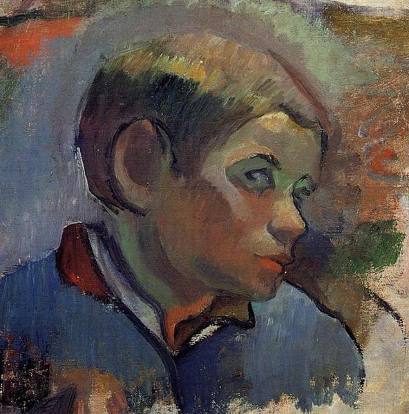 Portrait of a little boy, 1888 - Paul Gauguin