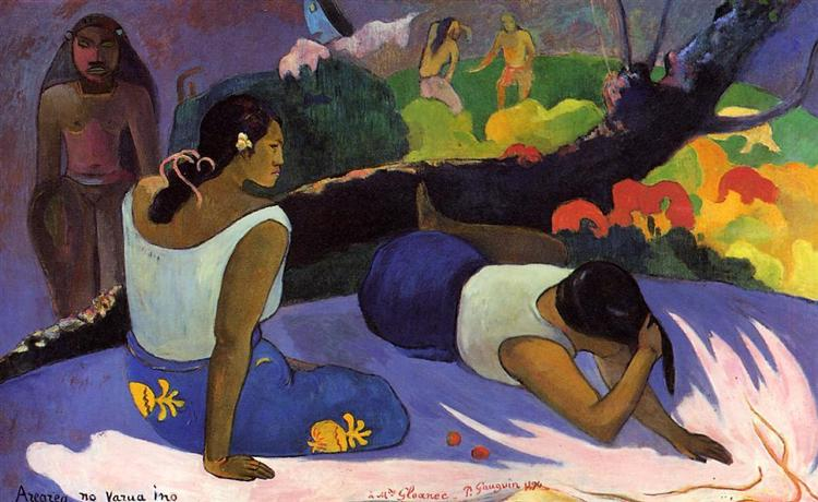 Reclining Tahitian Women, 1894 - Paul Gauguin