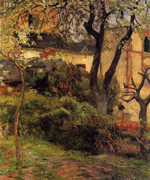 Rouen at spring, 1884 - Paul Gauguin