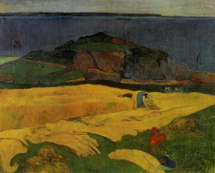 Seaside harvest, 1890 - Paul Gauguin