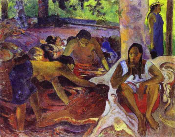 The fisherwomen of Tahiti, 1891 - Paul Gauguin