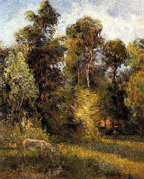 The Forest Edge, 1885 - Paul Gauguin