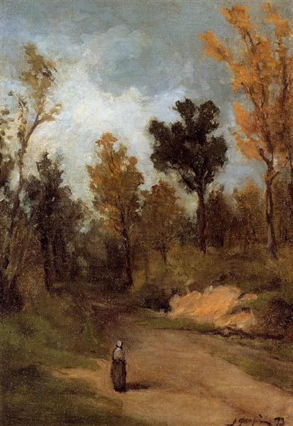 The Forest Path, 1873 - Paul Gauguin