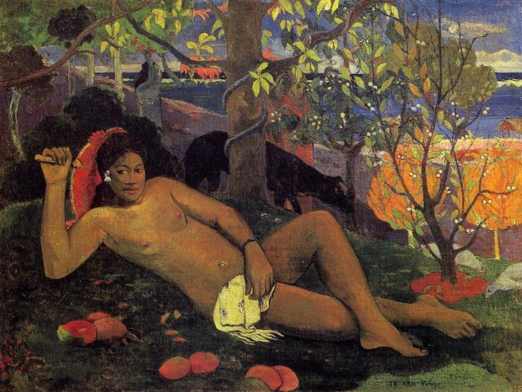 The King's Wife, 1896 - Paul Gauguin
