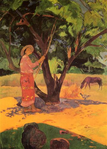 The lemon picker - Paul Gauguin