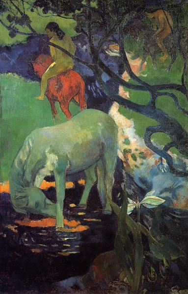 The White Horse, 1898 - Paul Gauguin
