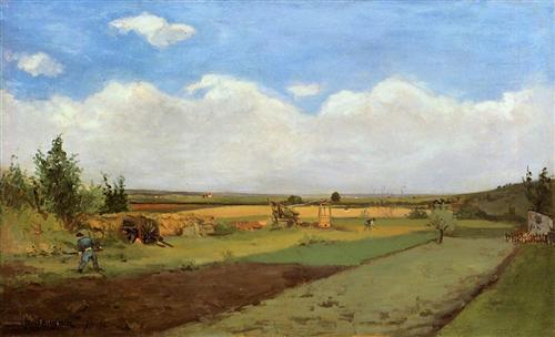 Working the land - Paul Gauguin