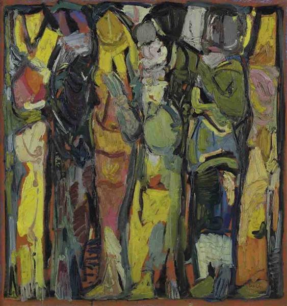 La famille, 1991 - Paul Guiragossian