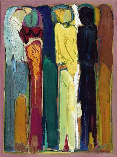 Untitled, 1980 - Paul Guiragossian