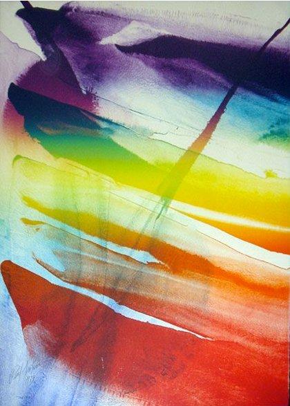 Phenomena Franklin's Kite, 1974 - Paul Jenkins