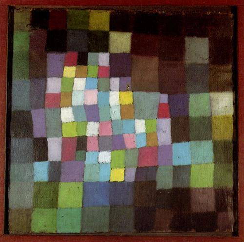 Abstraction with Reference to a Flowering Tree by Paul Klee