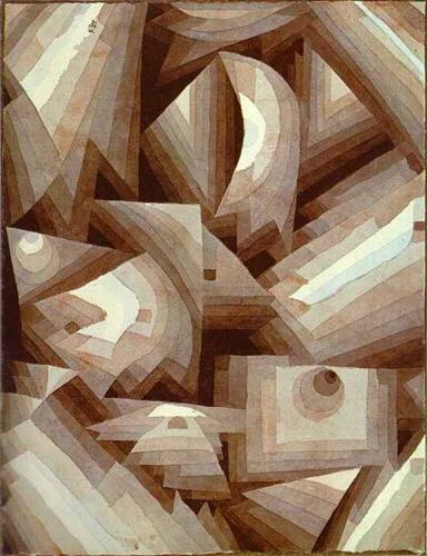 Crystal by Paul Klee