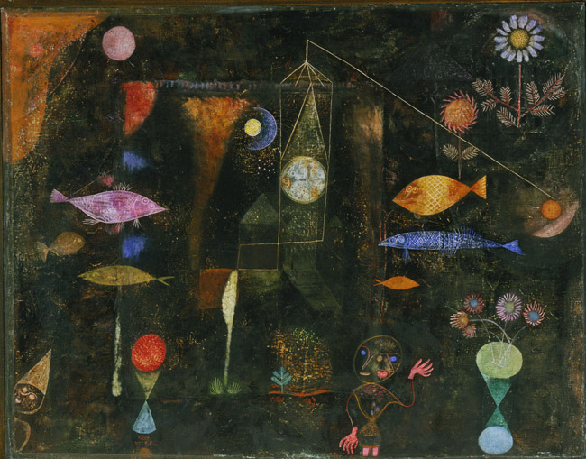 fish magic paul klee encyclopedia of