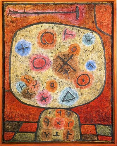 Flowers in Stone - Paul Klee