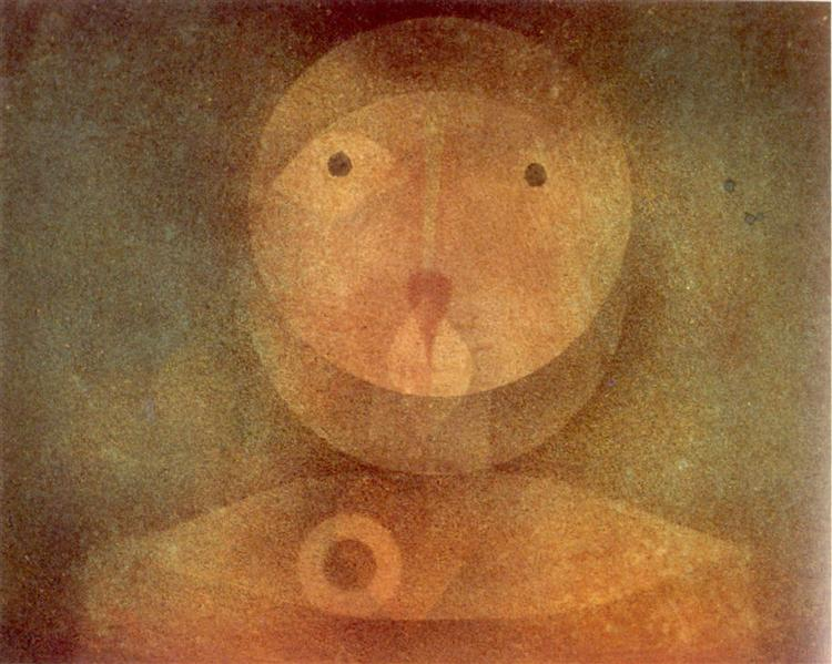 Pierrot Lunaire, 1924 - Paul Klee