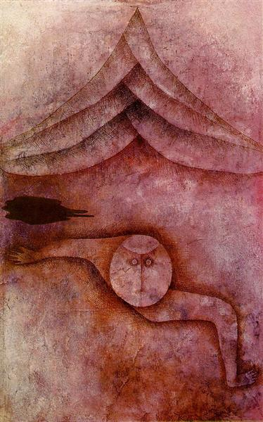 Refuge by Paul Klee, 1930 (via WikiPaintings)