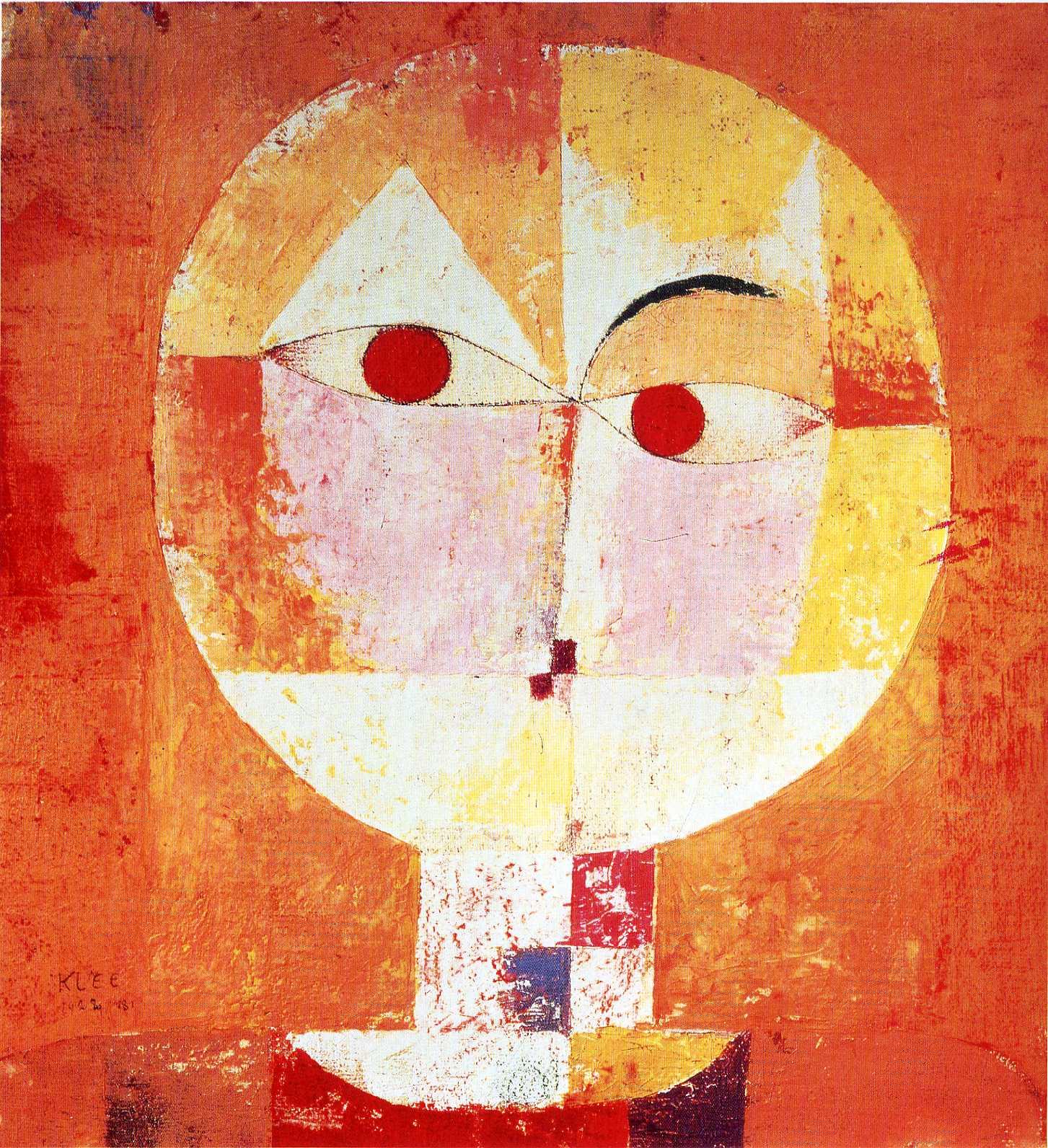 Senecio, 1922 - Paul Klee - WikiArt.org