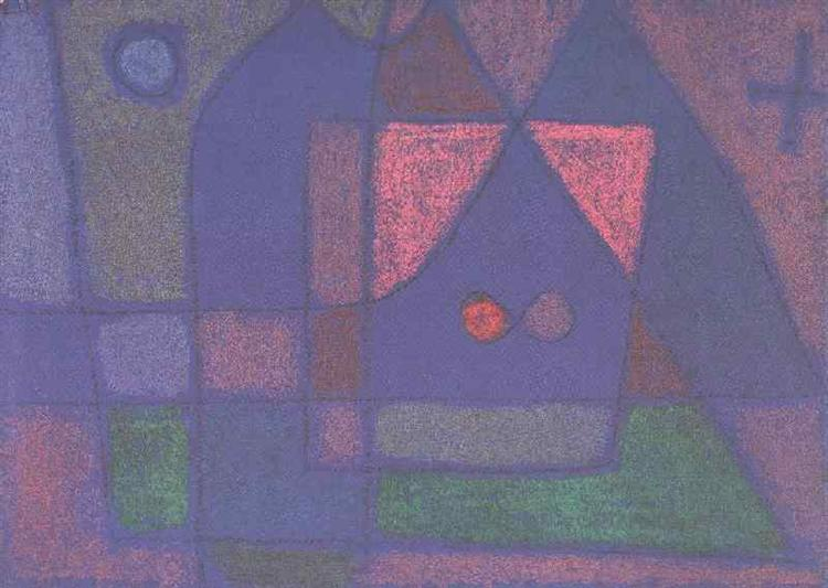 Small room in Venice, 1933 - Paul Klee