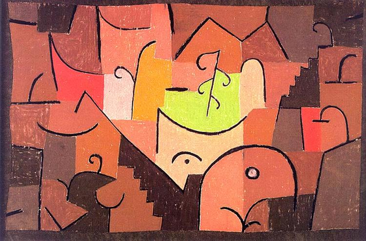 Stage Landscape, 1922 - Paul Klee