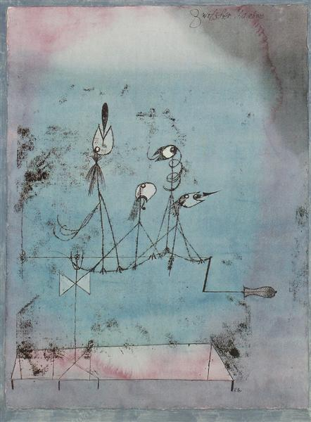 Twittering Machine, 1922 - Paul Klee