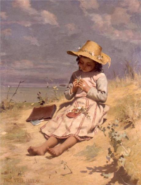 The Young Botanist, 1890 - Paul Peel