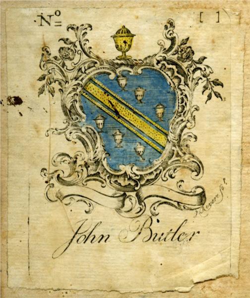 John Butler Bookplate - Paul Revere