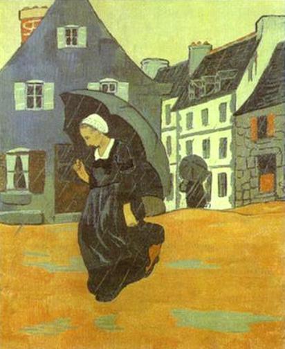 A rain, 1893 - Paul Serusier