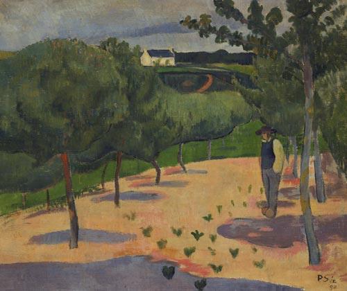 Spring, 1890 - Paul Serusier