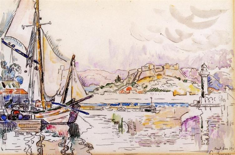 Antibes, 1917 - Paul Signac