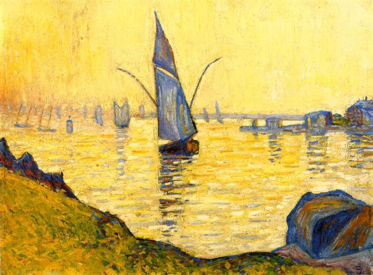 Concarneau (study), 1891 - Paul Signac