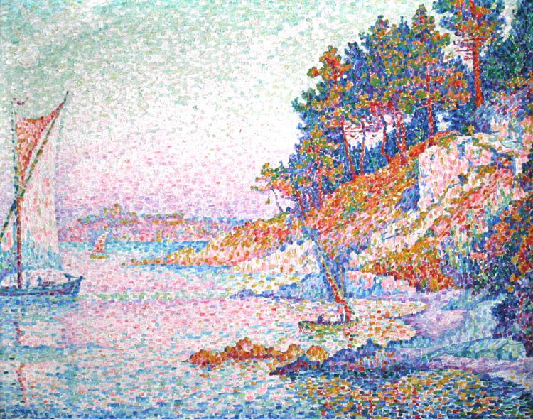 The bay, 1906 - Paul Signac