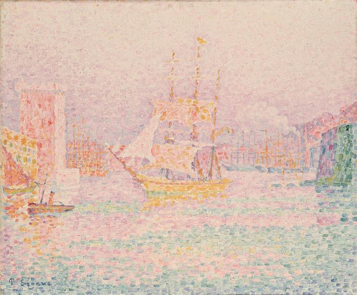 The Harbour at Marseilles, 1906 - Paul Signac