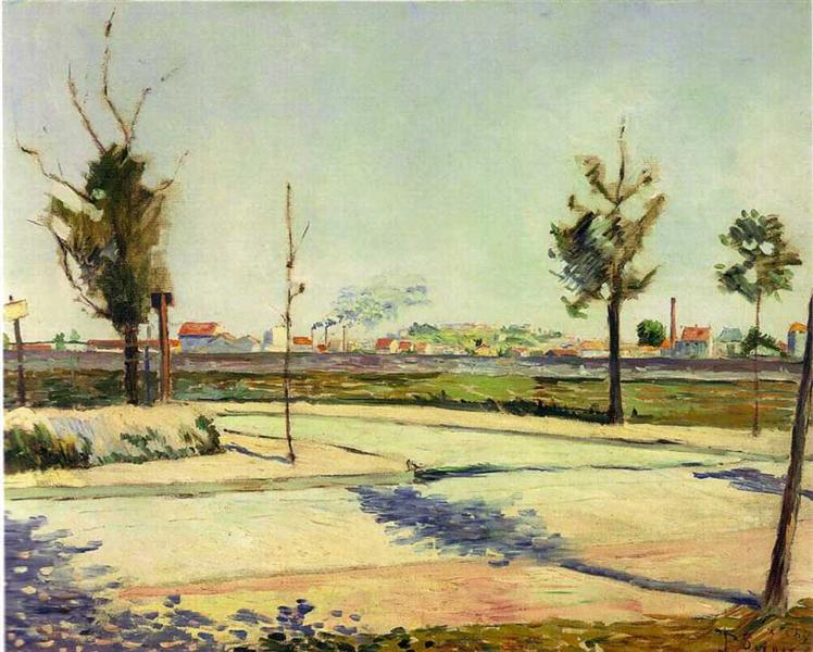 The Road to Gennevilliers, 1883 - Paul Signac