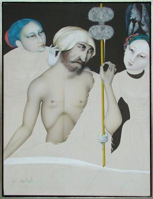 Hercules under Female Influence, 1990 - Paul Wunderlich