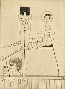 Mann und Frau, 1999 - Paul Wunderlich