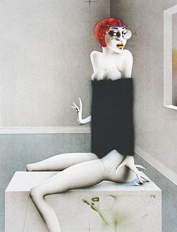 Vera, 1976 - Paul Wunderlich