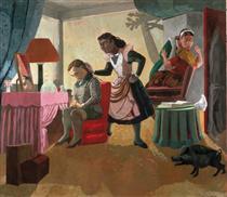 The Maids - Paula Rego