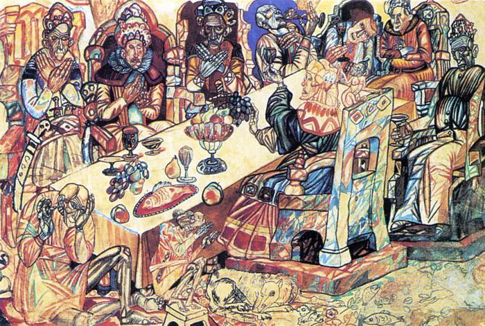 Kings Feast - Pavel Filonov