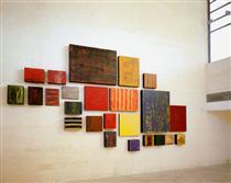 Campo de Sombras - Muro #02 - Pedro Calapez