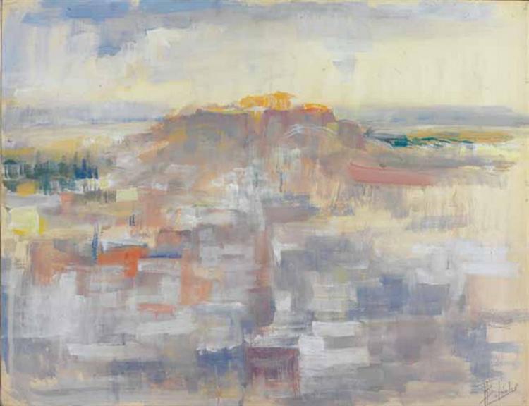 Acropolis, 1955 - Periklis Vyzantios