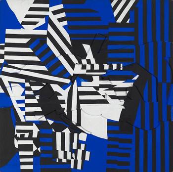 Unequivocably Blue, 1967 - Perle Fine