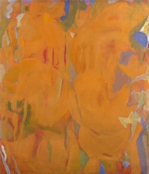 Untitled (Prescience Series), 1952 - Perle Fine