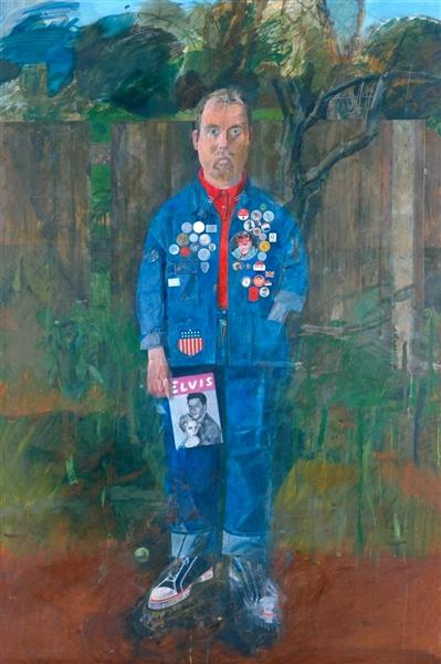 Self-Portrait with Badges, 1961 - Peter Blake