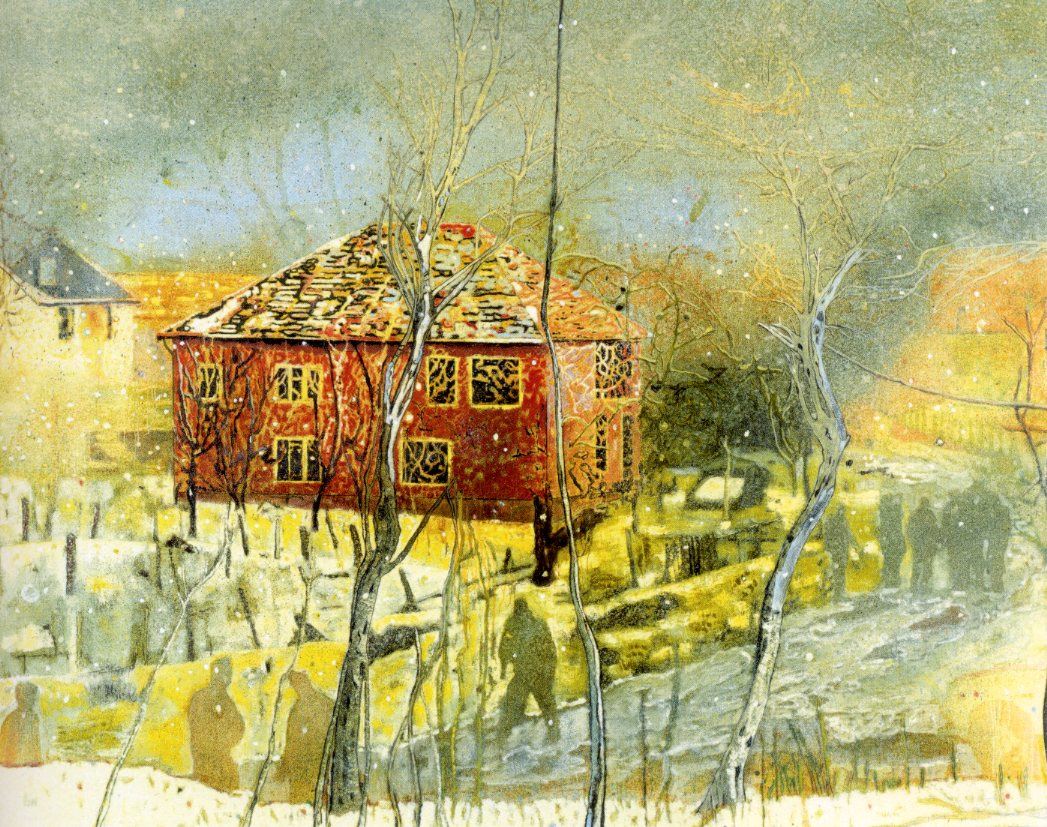 https://uploads4.wikiart.org/images/peter-doig/red-house-1995.jpg