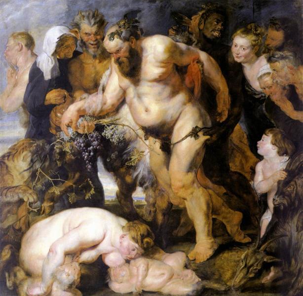 Drunken Silenus, 1618 - Peter Paul Rubens