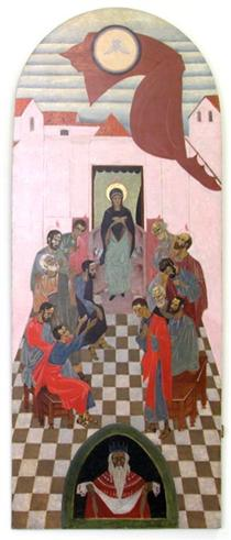 Icon The Descent of the Holy Spirit - Петро Холодний (старший)