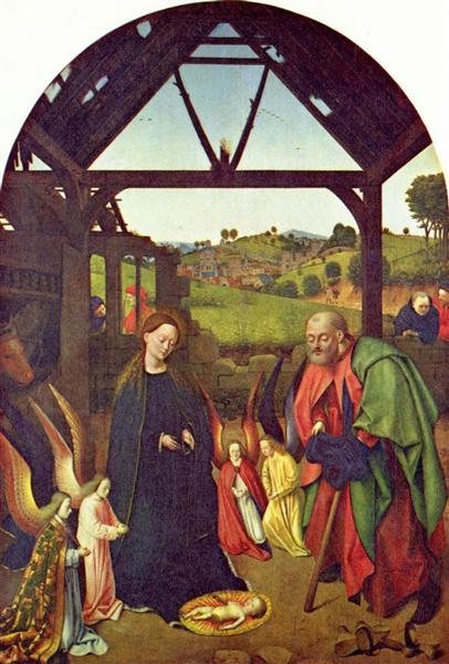 Nativity, c.1447 - Петрус Кристус
