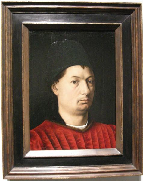 Portrait of a man, c.1465 - Petrus Christus