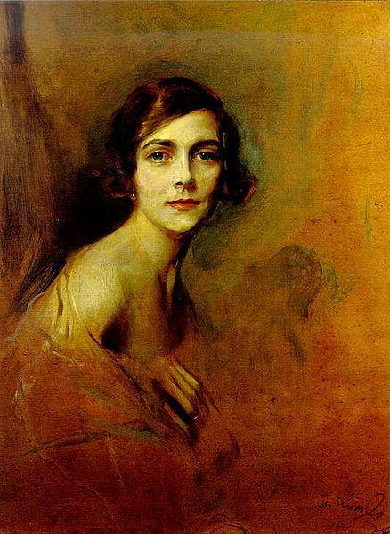 Edwina Mountbatten, Countess Mountbatten of Burma, 1924 - Philip de Laszlo