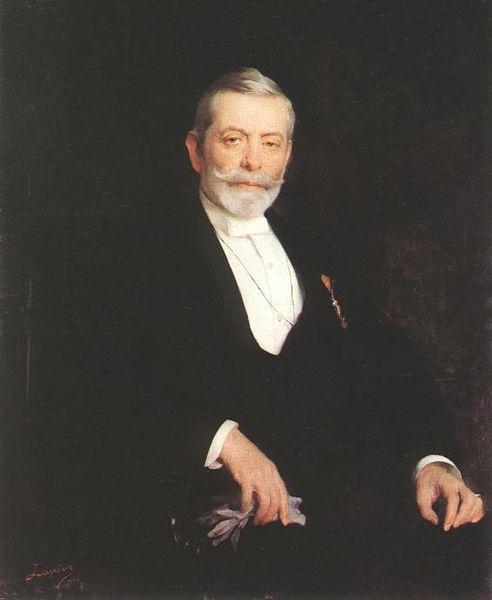 Portrait of Ignaz Wechselmann, 1894 - Philip de Laszlo